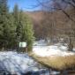 снимка на табела и пътека към Черни връх до заслона