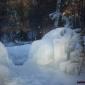 Висулки, капчуци, сталактити, сталагмити, фонтан от ледени капки